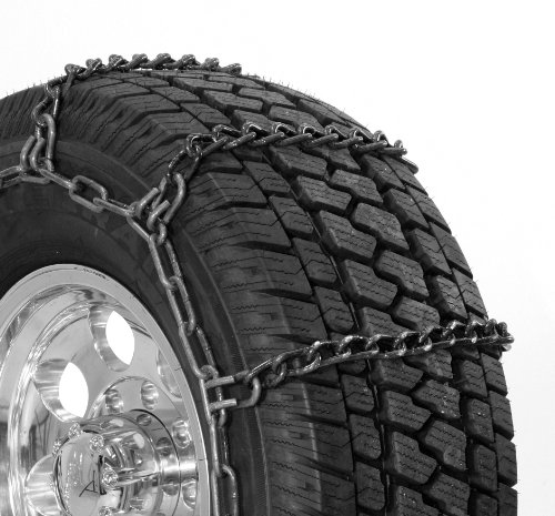 Security Chain Company TA1947 Alloy Radial Heavy Duty Truck Singles Tire Traction Chain Set of 2