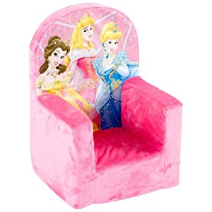 Marshmallow Fun Furniture High Back Chair ? Disney Princess from Spin Master