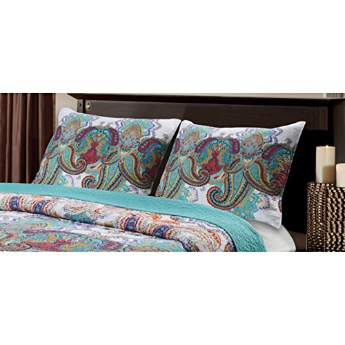 Shangri La Quilt Set By Greenland Home Fashions Dealtrend