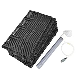 Plastic fish tank undergravel filter for Amazon fish tank filter