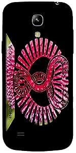 Timpax protective Armor Hard Bumper Back Case Cover. Multicolor printed on 3 Dimensional case with latest & finest graphic design art. Compatible with Samsung I9190 Galaxy S4 mini Design No : TDZ-26149
