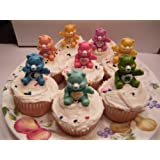 Care Bear Cake Topper Cupcake Decorations Set of 16