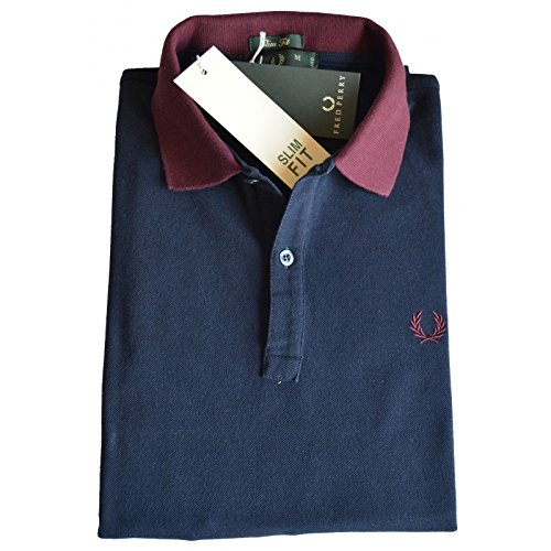 Polo T-shirt Maglia Uomo Men Fred Perry Made Italy 30102228 - L