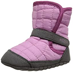 KEEN Rover Crib Shoe (Infant), Lilac Chiffon/Dahlia Mauve, 12-18 Months M US Infant