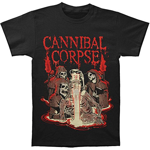 Cannibal Corpse -  T-shirt - Uomo Nero XL