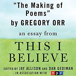 The Making of Poems Audiobook