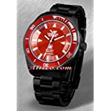 Red Russian Submarine Watch