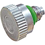 """Brass Nickel Plated With SS Orifice Mistcooling Misting Nozzles 0.012""""(0.30mm) 10/24 Thread (Pack Of 5)"""