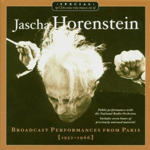 Jascha Horenstein: Broadcast Performances From Paris 1952-1966