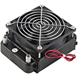 Alcoa Prime Newest 90mm Water Cooling CPU Cooler Row Heat Exchanger Radiator With Fan For PC Promotion