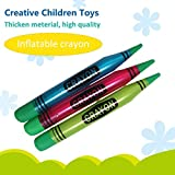 Generic Fluorescent Colors Inflatable Crayon 105*13Cm Creative Children Inflatable Toys Party Stage Decoration...