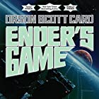 Ender's Game: Special 20th Anniversary Edition Audiobook by Orson Scott Card Narrated by Stefan Rudnicki, Harlan Ellison, Gabrielle de Cuir
