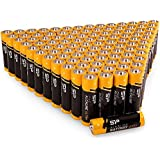 100PK , AA : Silicon Power Alkaline Sp/Silicon Power 100 Pack AA Alkaline Batteries - 1.5V Anti-Leakage Protection...