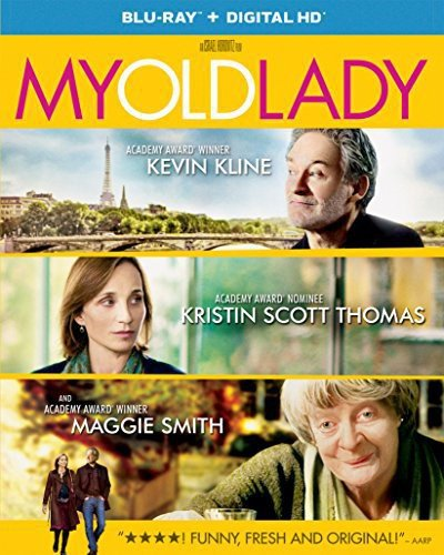Blu-ray : My Old Lady (Ultraviolet Digital Copy, Snap Case, Slipsleeve Packaging, Digitally Mastered in HD)