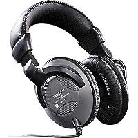 Tascam HP-VT1 Over-Ear 6.3mm Wired DJ Headphones (Black)