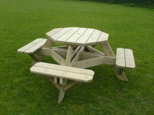 Hexagonal Picnic Bench