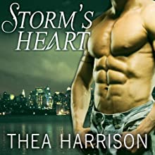 Storm's Heart: Elder Races Series #2 (       UNABRIDGED) by Thea Harrison Narrated by Sophie Eastlake