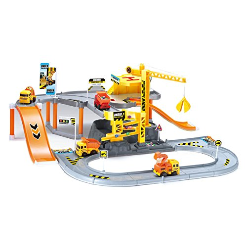 Construction Site Toys : World of wheels construction site playset toys games