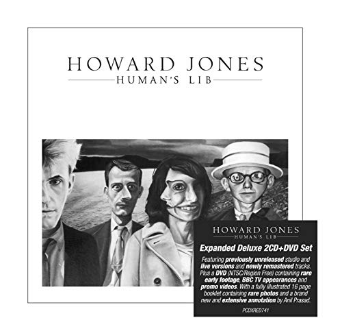 CD : Howard Jones - Human's Lib (With DVD, Deluxe Edition, Expanded Version, Digipack Packaging, United Kingdom - Import)