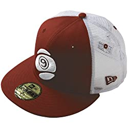 Sector 9 Capital Cap Adult Fitted Casual Wear Hat/Cap - Red/White