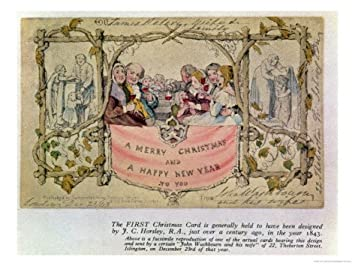 The first commercially produced christmas card was for Who commissioned the first christmas card in 1843