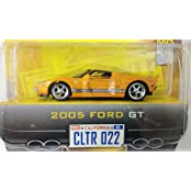 Dub City Kustoms / 2005 Ford Gt / Orange / 1:64 Scale Die Cast Collectible / Jada Toys / 2006