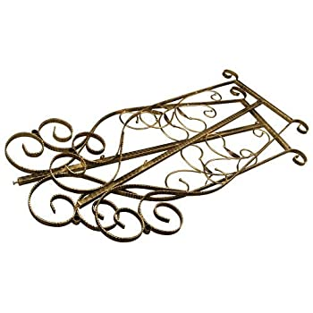 Brand New Free Standing Decorative Antique Bronze Iron Garment Coat Rack (Y009D)