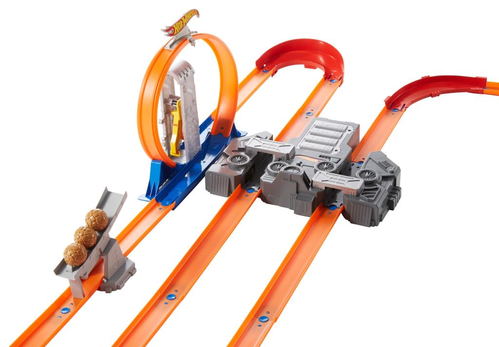 New Hot Wheels Track Builder System Kit Total Turbo ... Hot Wheels Race Track