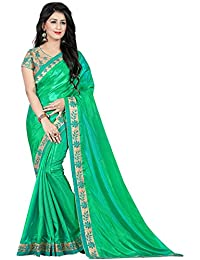 Siddeshwary Fab Silk Saree (S05-Green Silk Saree_Green)