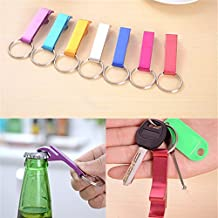 Alcoa Prime Hot Sale!! Mini Portable Aluminium Alloy Beer Bottle Opener Keychain Key Ring Chain Keyring Bar Tool...