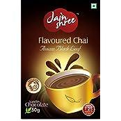 Jainshree Flavored Tea With Chocolate 50 Grams, Pack Of 4