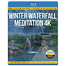 Winter Waterfall Meditation 4K [Blu-ray]