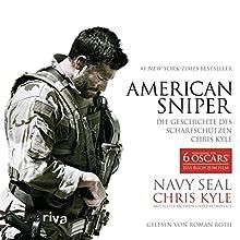American Sniper: Die Geschichte des Scharfschützen Chris Kyle (       gekürzt) von Chris Kyle, Scott McEwen, Jim DeFelice Gesprochen von: Roman Roth