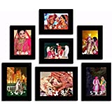 "Creative Arts N Frames Photo Frame Collage || Different Sizes || Photo Size : 4""x6"" (4), Photo Size : 5""x7"" : (2), 6""x8"" : (1) 