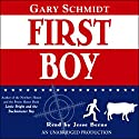 First Boy Audiobook by Gary Schmidt Narrated by Jesse Berns