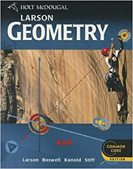 Holt mcdougal geometry textbook