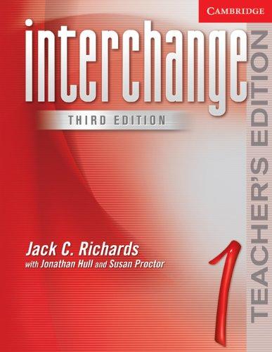 Interchange Teacher's Edition 1 (Interchange Third Edition)