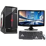 "BASAMA TOOFAN CI3/8/2GB GFX/2TB/18"" CORE I3 CPU / 8GB RAM/2 GB GRAPHIC CARD/ 2TB HDD / ATX CABINET WITH 18"" LED DESKTOP PC COMPUTER"