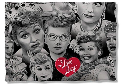 I Love Lucy Faces Pillow Case LB241PLO
