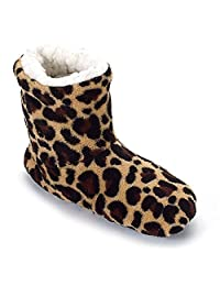 Capelli New York Slipper Socks with Grippers Size S/m