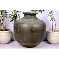 Handmade 12.5 X 16.5 Inches Outdoor Pot Indoor Garden Copper Vintage Planter IndianShelf Online