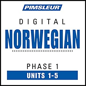 Norwegian Phase 1, Unit 01-05 Audiobook