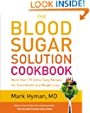 The Blood Sugar Solution Cookbook by Mark Hyman book cover