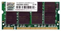 1GB Transcend DDR333 PC2700 DDR SO-DIMM laptop memory module CL2.5