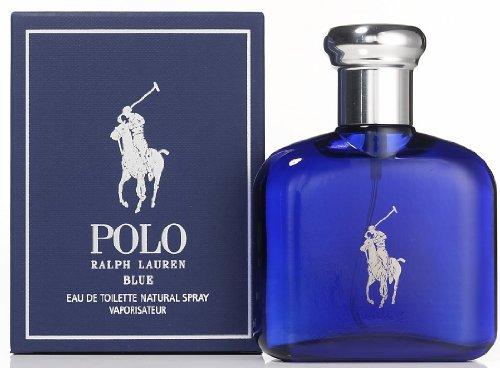 Polo Blue Cologne by Ralph Lauren for Men. Eau De Toilette Spray 2.5 oz / 75 Ml