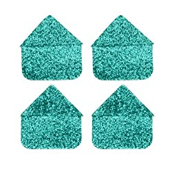 Martha Stewart Crafts Photo Corners Turquoise Glitter By The Package