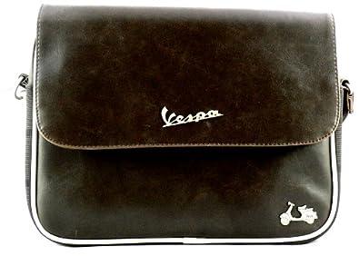 Borsa Vespa (25) in cuoio marrone e466fb6a86a