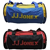 JJ Jonex Polyester 22 Cms Multi-Colour Soft Sided Gym Bags (Combo Pack Of 2 ) - B01H6VL388
