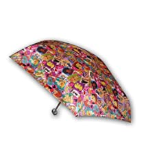 Barbie Girl's Collapsible Umbrella