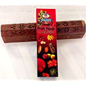 Fruit Punch Incense Sticks 10 Different Fruit Scents In ONE Pack. With Agarbathi Stand